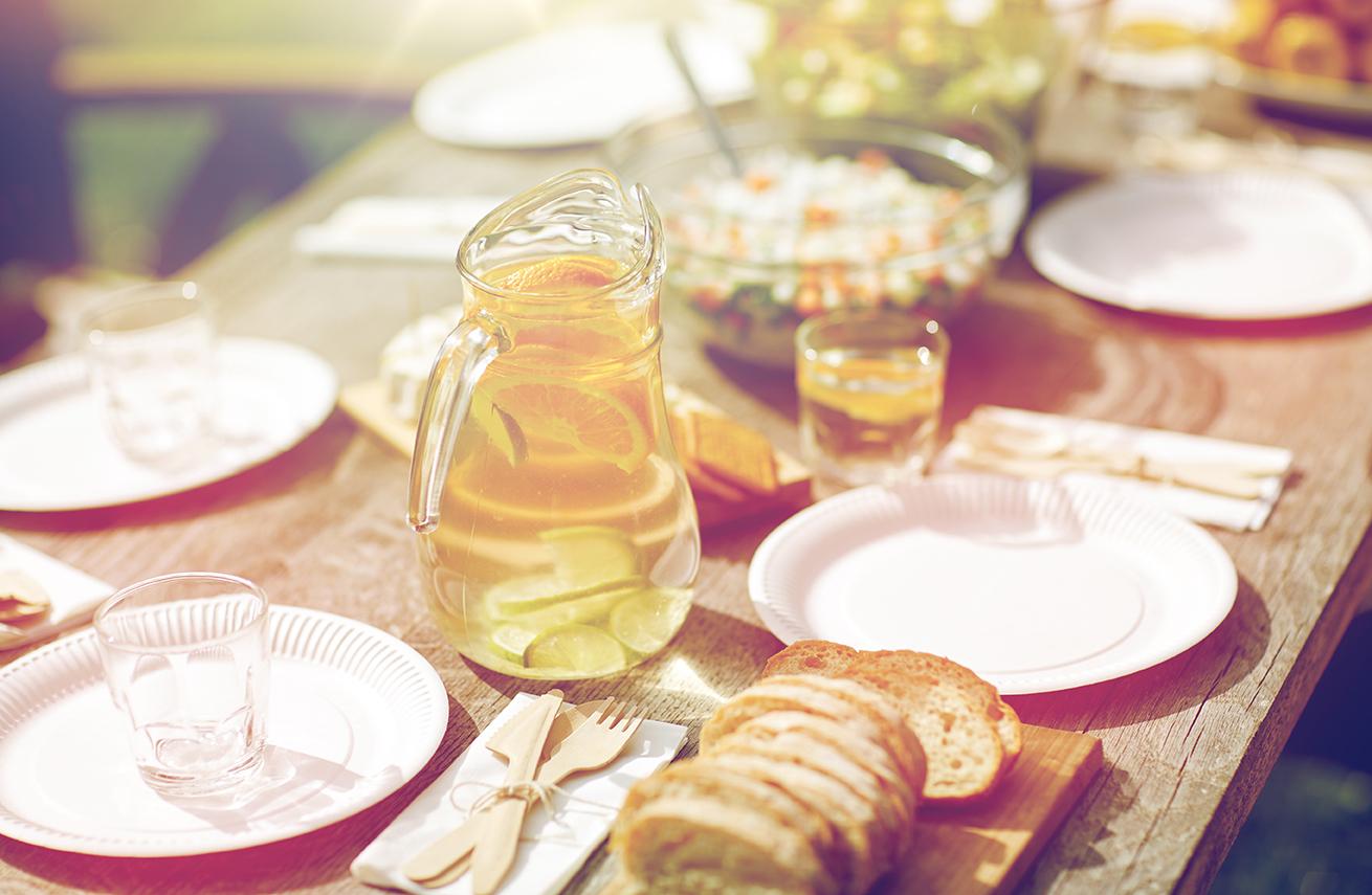 Wasser und Brot – am besten im Doppelpack!