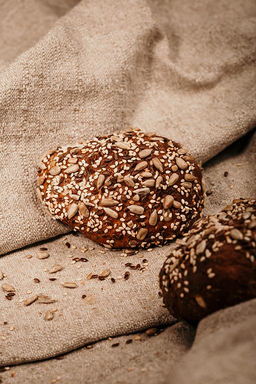 Bäckerei Hager G'sünder Leben im Jänner Low-Carb-Weckerl