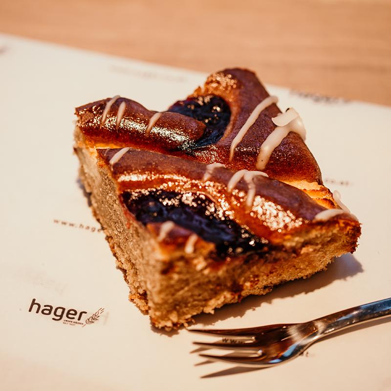 Bäckerei Hager G'sunde Wochen im Jänner Dinkelbuchweizenkuchen