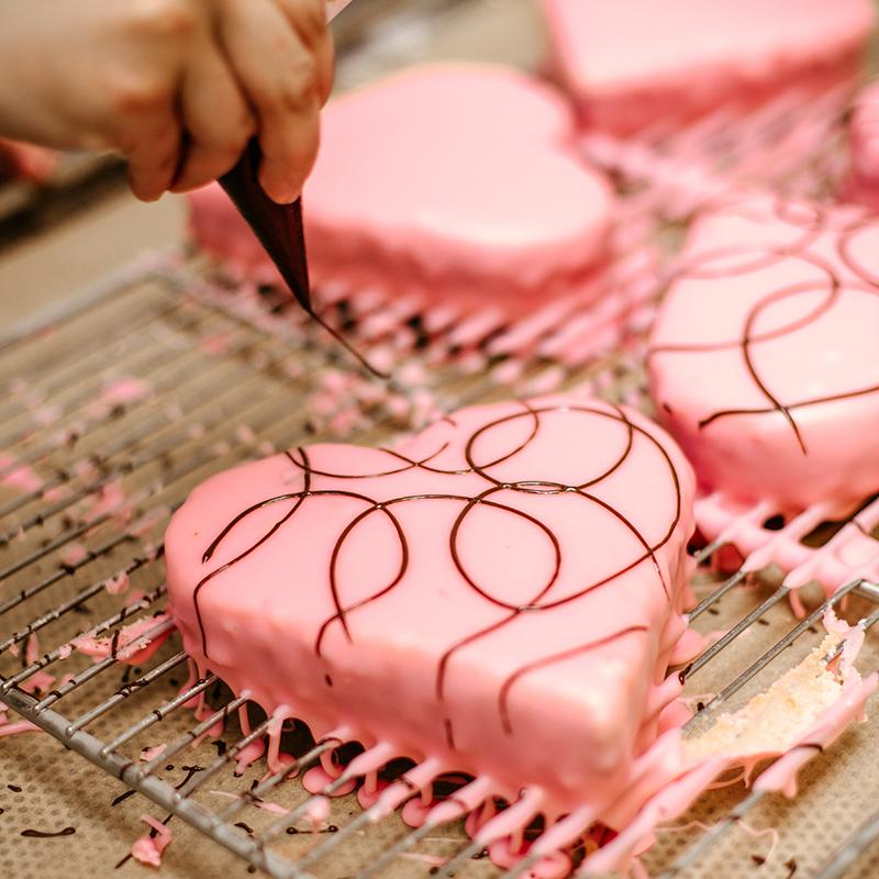 Bäckerei Hager Konditorei Valentinstag Punschherz