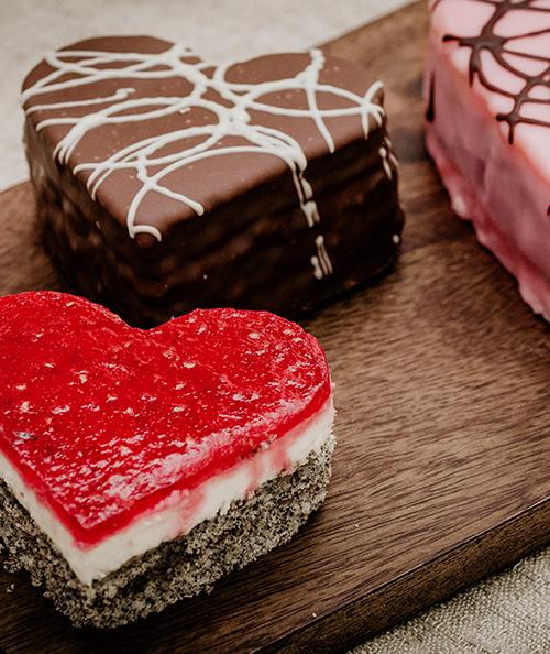 Alles Süße zum Valentinstag