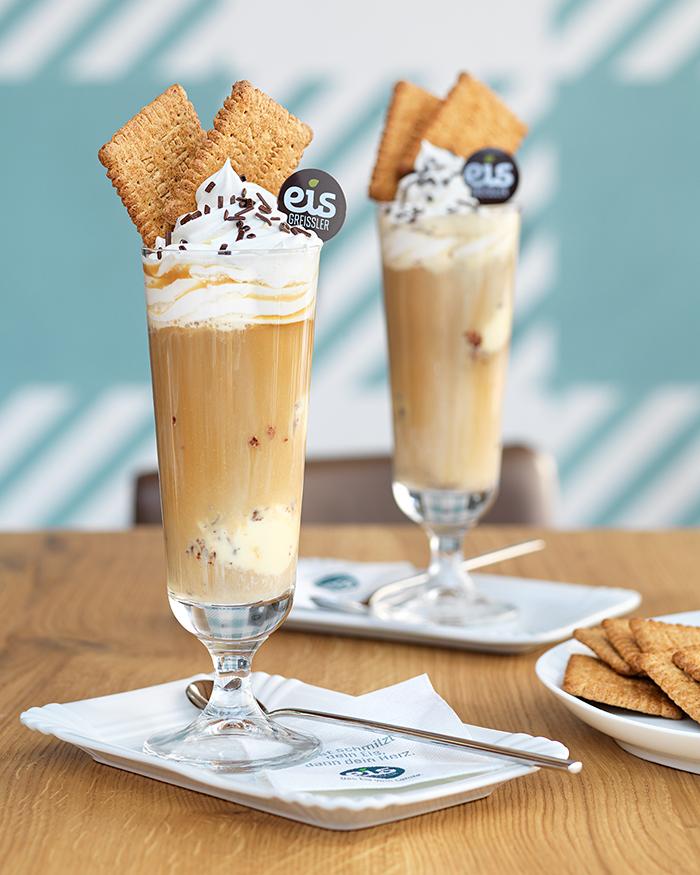 Bäckerei Hager Eiskaffee Eisgreißler