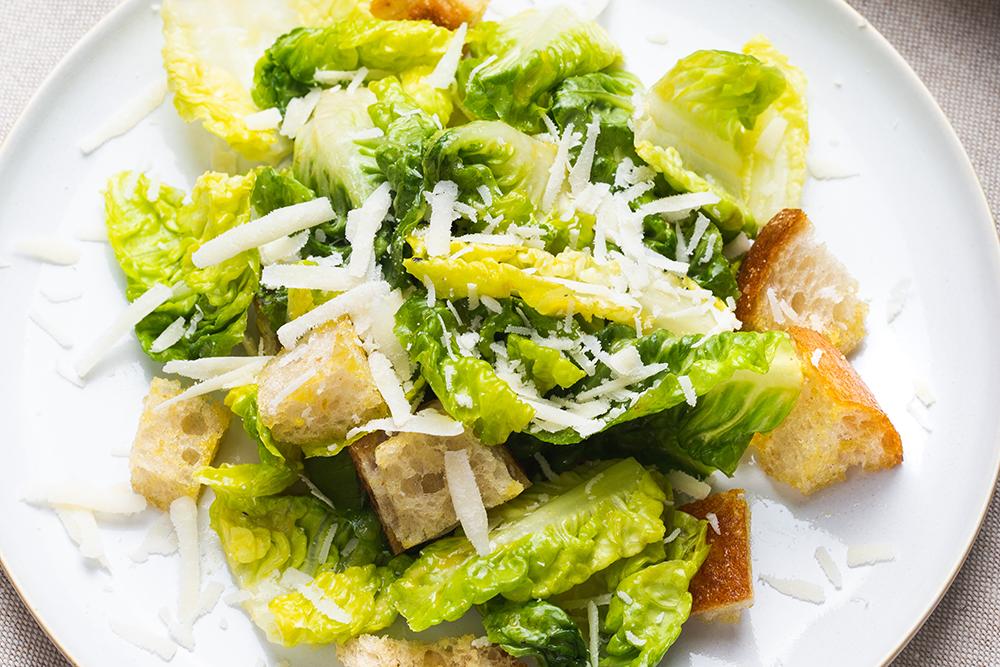 Brotrezept: Caesar Salad
