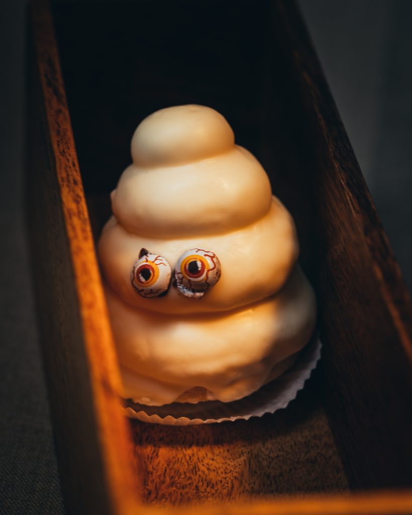 Schaumgespenst Halloween Bäckerei Hager