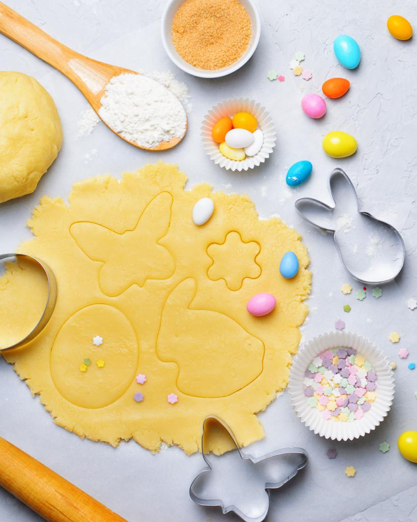 Bäckerei Hager Mürbteig Osterkekse für daheim