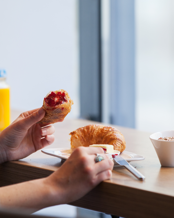 Frühstücken bei Hager
