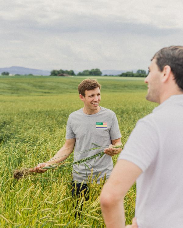 Lukas und Anton Klaus – unsere Dinkelbauern im Porträt