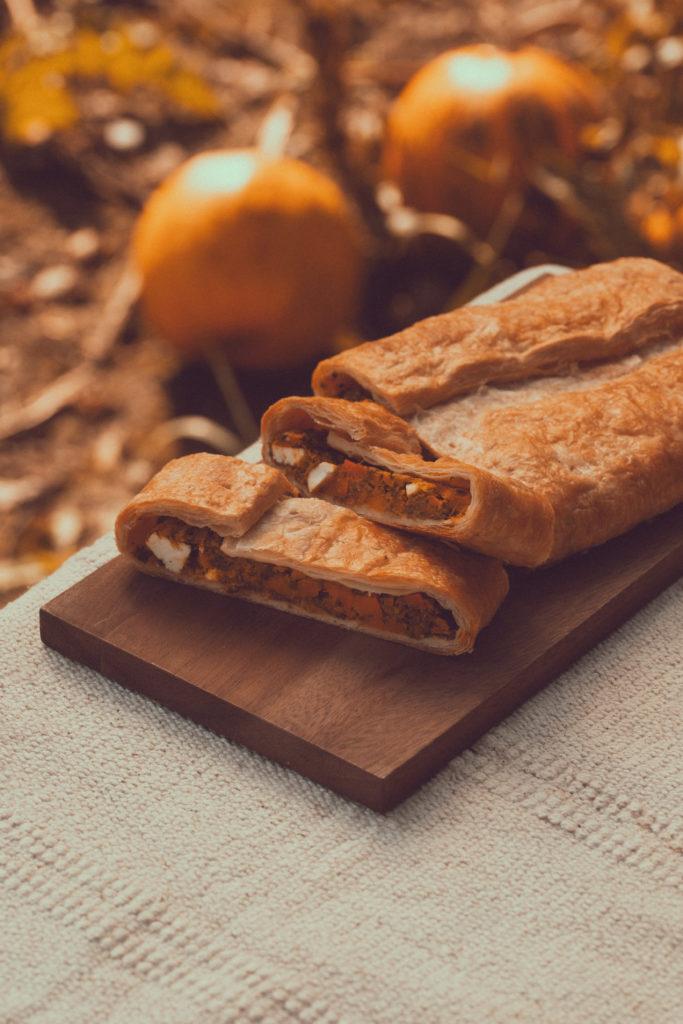 Bäckerei Hager Kürbisstrudel mit Kürbissen aus der Region