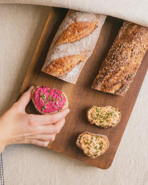 Unsere handgemachten Baguettes mit Genussrabatt