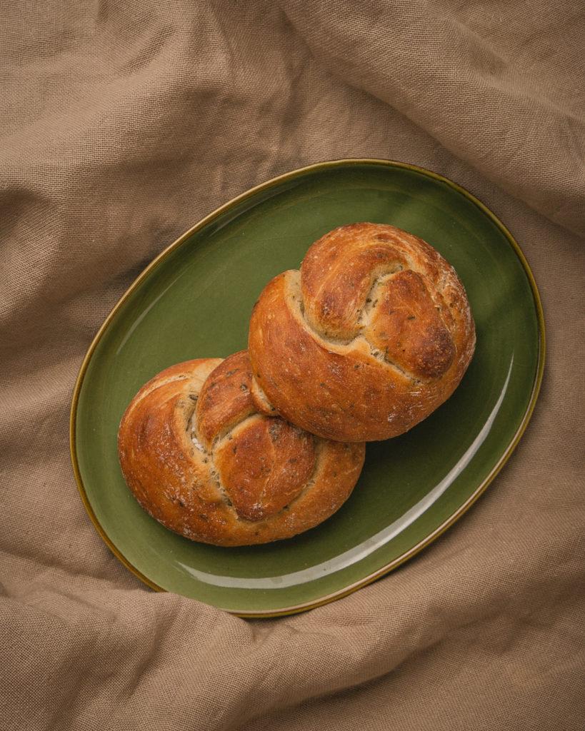 Bäckerei Hager Bärlauchknopf