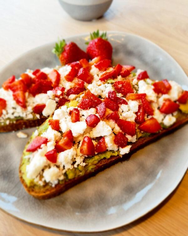 Erdbeer-Brote